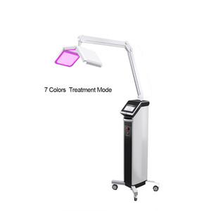 Profession 7 Farben Licht Photon LED Elektrische Gesichtsmaske PDT Hautverjüngungstherapie Behandlung Beauty Instrument