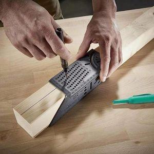 Mark Ligne 3D Travail du bois Scribe Calibre T-Type carrelet Disposition Mitre 90 Gauge Degré de mesure Gauging Carpenter