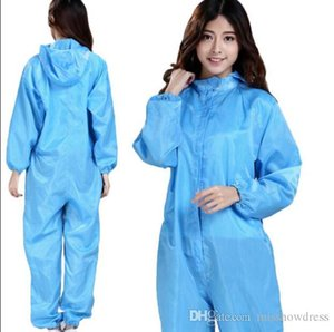 DHL Ship Disposable Protective Clothing Waterproof Oil-Resistant Protective Coverall Spary Painting Decorating Clothes Overall s-4xl