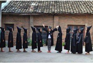 Harry Potter Cosplay elbise Gryffindor Cloak Ravenclaw'un Slytherin Hufflepuff Cadılar Bayramı Cosplay parti Giyim Robe Çocuk yetişkin boyutu KKA7870