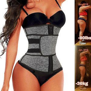 1 PC Neoprene Faster Trainer Corset Sweat Belt for Women Weight Loss Weight Compress Strimmer Workship