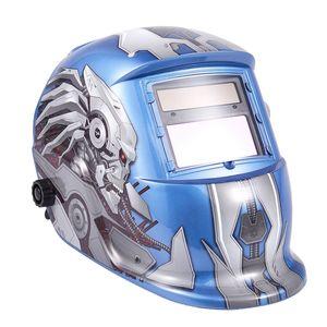 Máscara Freeshipping Solar de solda automática para Tig Mig Mag Mma Equipamento de soldagem de ajuste variável Solar automático fotoelétrico Welding