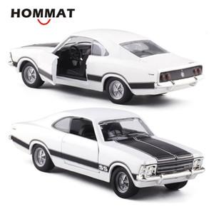 HOMMAT escala 1:43 Chevrolet Opala Model Car Vintage Veículo SS Modelo Car Alloy Diecast Toy brinquedos para crianças Black Friday presente CJ191212