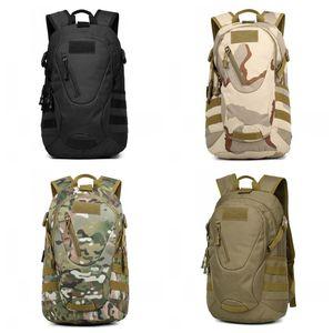 Outdoor Travel Both Shoulders Zaino Uomo Tattiche da donna Borsa Motion Camouflage Wrap ad alta capacità in nylon antiusura 58jc C1