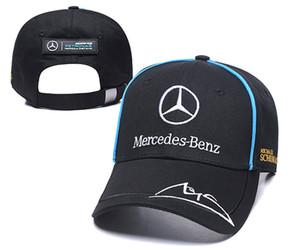 2019 الجملة عالية الجودة الرياضة بنز قبعة بيسبول snapback إمرأة رجل كاب الترفيه القبعات القطنية عارضة الكبار قبعات لسيارات bmw سيارة النساء الرجال