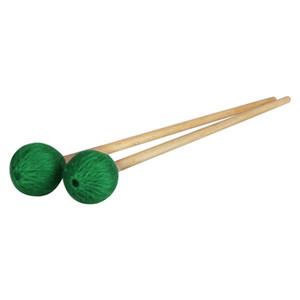1 paio Medio Marimba Stick Mallets xilofono Glockensplel Mallet in faggio Maneggiare Percussion Kit Mallets per dilettanti Musical