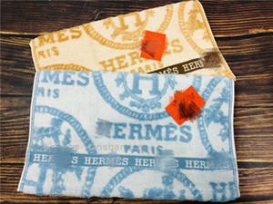 Los hombres y las mujeres de lujo de la letra H de alta calidad toalla de baño de algodón modal cómodo toallas suaves toallas de hotel Inicio toallas de cara de color azul amarillo
