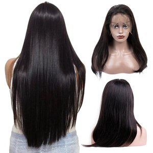 24inch 360 Lace Frontal Wig Pre Plucked With Baby Hair Indian Remy Straight Hair Wig Lace Front Human Hair Wigs For Black Women