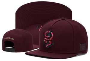 2019 nuevo algodón moda snapback diseñador sombrero exterior gorra gorras snapbacks para hombres y mujeres para hombre sombreros para mujer gorras hip pop sombreros vino rojo