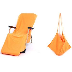Cubierta plegable al aire libre portátil de la silla Cubierta de la silla de playa para la piscina Sol en el hotel Vacaciones Camping Picnic Fold Up