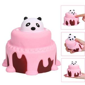 11 cm blando Squeeze Cake blando lenta Rising crema perfumadas descompresión Juguetes blandos Oyuncak antiestrés niños squishi juguetes