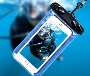Wasserdicht Dry Bag Tasche Schutzhandytasche PVC-Beutel für Tauchen Schwimmen Sport-Abdeckung für iphone 11 XS Max X 8 7
