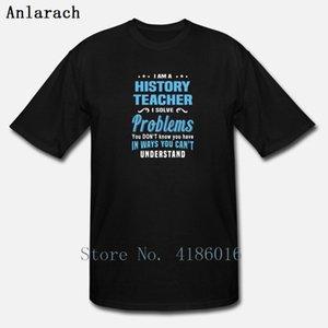 Storia Insegnante T Shirt Regalo Estate naturale Estate divertente S-5XL Camicia originale personalizzata personalizzata
