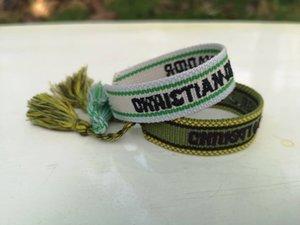 Лучший Summertime браслет, браслет Резьбового для мужчин и женщин, дизайнер вдохновил Тканый браслет дружбы, плетеный браслет с кисточкой