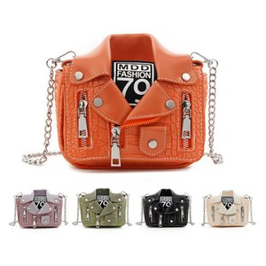 22 Colors Fashion Famale Shoulder Bag New Design Chain Motorcycle Hight Quality Casual Clothing Rivet Jacket Shape for Bag Women