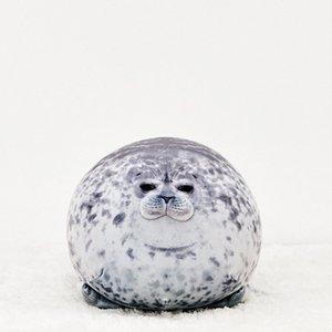New Plush Big Seals Toy Doll Comforting Sleep 30CM Cute Seals Pillow Ocean Stuffed Animals Soft Toys Children's Birthday Present