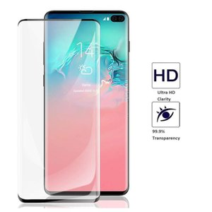 Samsung Galaxy S10 5G VERSION NOTE 10 S10 S10E S10+ 5D Full Coverage fingerprint unclock NO HOLE High Clear Tempered Glass Screen Protector