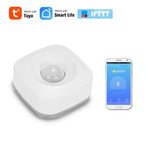 2020 Yeni WIFI PIR Hareket Sensörü Kablosuz Pasif Kızılötesi Dedektör Güvenlik Hırsız Alarm Sensörü Tuya APP Kontrol Akıllı Ev