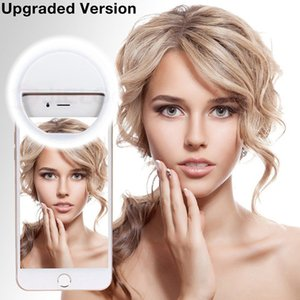 Selfies light USB Charge LED Selfie Ring Light Phone Lamp for iPhone Smartphone Xiaomi Beauty Fill Light Photography Photography