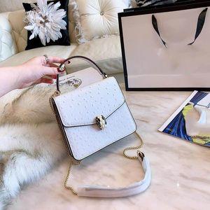 borsa di lusso delle donne borsa modello struzzo totes di modo borse griffate crossbody spalla totes di modo borsa Designer-