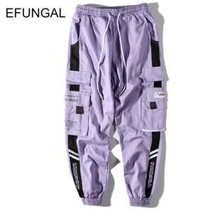 Color Block Mens Pantaloni felpa Faship cotone Traccia Pantaloni Hip Hop Primavera Autunno Streetwear Midweight sciolto Harem Joggers FD133
