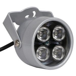 Alk 1 قطعة cctv المصابيح 4 صفيف ir led إضاءة ضوء الأشعة تحت الحمراء للرؤية الليلية للماء cctv ملء ضوء ل كاميرا cctv ip