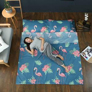 Taşınabilir Seyahat Otel Pamuk Yastık Fit Tek / Çift Kişilik Yatak VT0168 Çanta Anti-Kirli Sağlık Yatak Örtüsü Çarşaf Sleeping