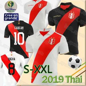 Thai peru Copa América camisa de futebol 2019 GUERRERO FARFAN CUEV camiseta de fútbol CUEVA maillot de uniforme pé CARRILLO top futebol