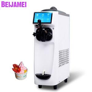 BEIJAMEI 2019 Yeni Otomatik dondurulmuş yoğurt makinesi fiyat 16-22L / H soft dondurma yapma makinaları ticari