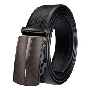 Oi-Tie dos homens de Negócios de Moda Cintos de Cintura Fivela Automática Cintos De Couro Genuíno Para Homens 110-160 cm Homme DK-0031 Ceinture