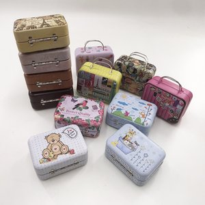 Vintage portable box eyelash box new design new style box customized logo wholesale customization eyelashes boxes Lovely delicate package