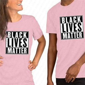 Unisex negra vive camisa de matéria t S-3XL Letters Imprimir Verão Designer Tshirts tendência de manga curta Tee Luxury Sport Top D6513