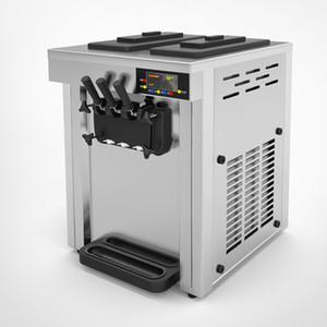 Der heiße Verkauf Tischplatte Mini Softeis Automaten 3 Flavors Ice Cream 15-20L / H mit Softeismaschine