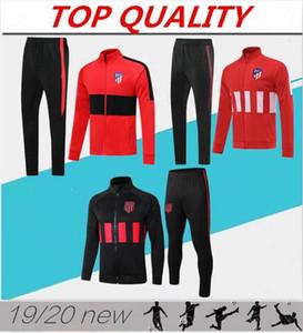 2019 2020 JOÃO FÉLIX chaqueta de traje de entrenamiento de fútbol Madrid 2019/20 Camiseta de Fútbol LLORENTE chaqueta de chándal de fútbol con cremallera larga JOAO FELIX