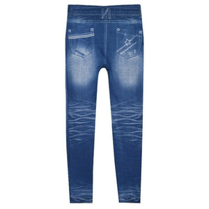 Damen Jeans Skinny Ripped Pants Hohe Taille Stretch Jeans Schlanke Bleistifthose