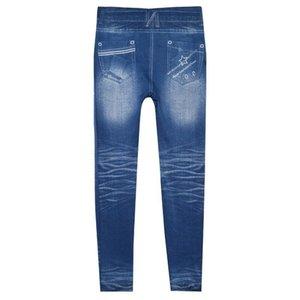 Jeans skinny en denim pour femmes, taille haute, jeans extensibles, pantalon slim
