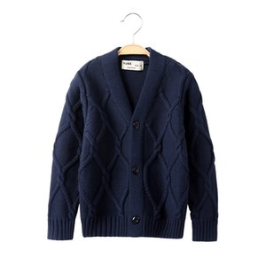 VIDMID Kids baby boys cardigan coat boys autumn sweaters cotton Baby Boys casual jacket sweaters children's clothing 7088 02