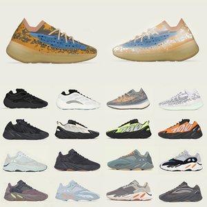 Сток X Alvah Azael 700 V2 V3 мужские кроссовки 700s Магнит утилита черный Vanta Kanye west мужчины женщины спортивные дизайнерские кроссовки 36-45