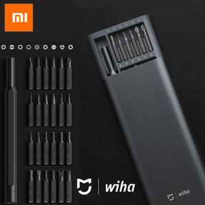100 % 샤오 미 Mijia Wiha를 사용하여 매일 나사 키트 24 정밀 자기 비트 Alluminum 상자 스크류 드라이버 샤오 미 스마트 홈 키트