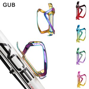 GUB Alloy Bicycle Bottle Holder Bike Water Bottle Rack Cycling MTB Bicycle Bottles Mount Cage Rack