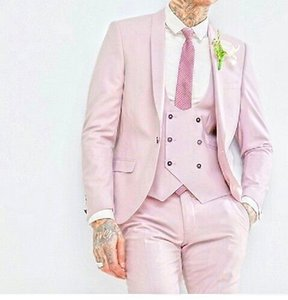 Newest One Button Groomsmen Shawl Lapel Wedding Groom Tuxedos Men Suits Wedding Prom Dinner Best Man Blazer(Jacket+Tie+Vest+Pants) 450
