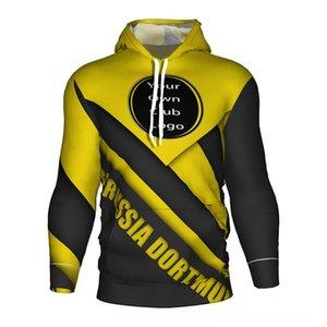 Borussia Soccer Jersey 2018 2019 (Men's Hoodies & Sweatshirts Men's Clothing Football 3d Hoodie Tracksuit Dortmund Training Kit Borussia Dor