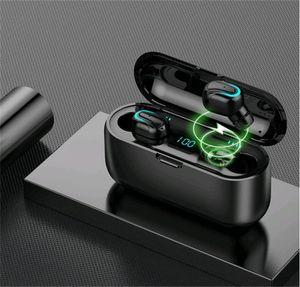 Esporte Tws-C2 sem fio Bluetooth 5.0 Sports Ear-Hook fone de ouvido fone de ouvido Earbuds Vs F9 8H Power Pro For X 11 Samsung S9 S1 # OU119