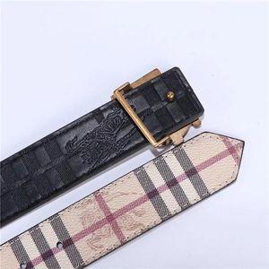 2020 년 남성과 여성을위한 벨트 사양 : 3.8 cm 폭 105~125cm 버클, 금,은, 고대의 골드 벨트 : 검은 색 줄무늬와 흰색