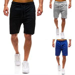 Hombres verano deportes sudor pantalones cortos sueltos Harem entrenamiento danza holgada Jogging Casual Shorts negro azul gris