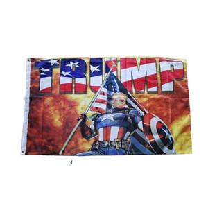 Fashion Trump 2020 Flag 90*150CM Classic Donald Keep America Great Digital Print USA Banner Home Party Decor