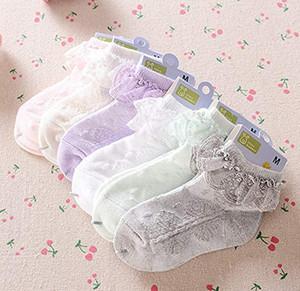 Baby Mädchen Lace Ruffle Rüschen Söckchen Sweet Princess Cotton Short Socks