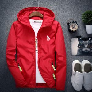 Toptan Yeni Markalar Designered Ceket Tide Erkek Ceket Coat Moda Baskılı Luxuryed Erkek Hoodie Casual Sport Açık ince Windbreak Coat