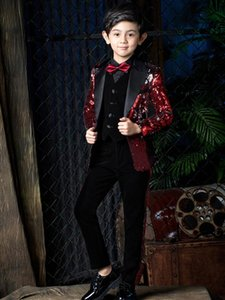 YuanLu Boys Suits For Wedding Party Kids Suits Baby Blazer Boys Outfits Child Clothes Formal Toddler Dress Slim Fit