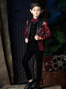 YuanLu Boys Suits For Wedding Party Kids Suits Baby Blazer BoysOutfits Child Clothes Formal Toddler Dress Slim Fit